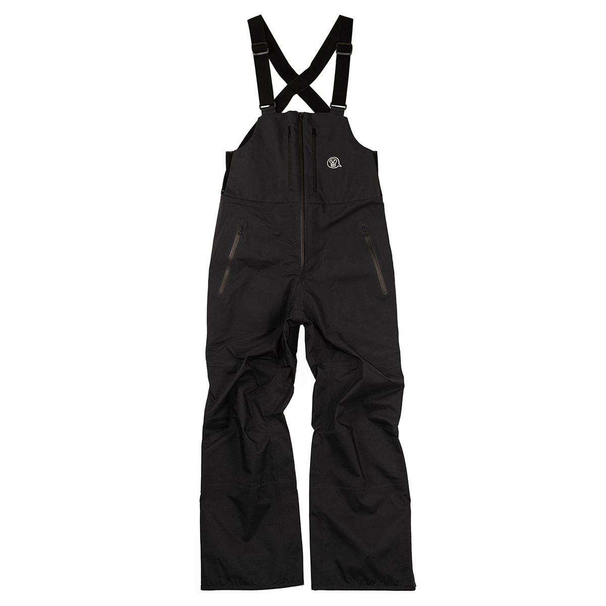 unfudge snow wear / PEEP BIB PANTS / BLACK // 1920PBB