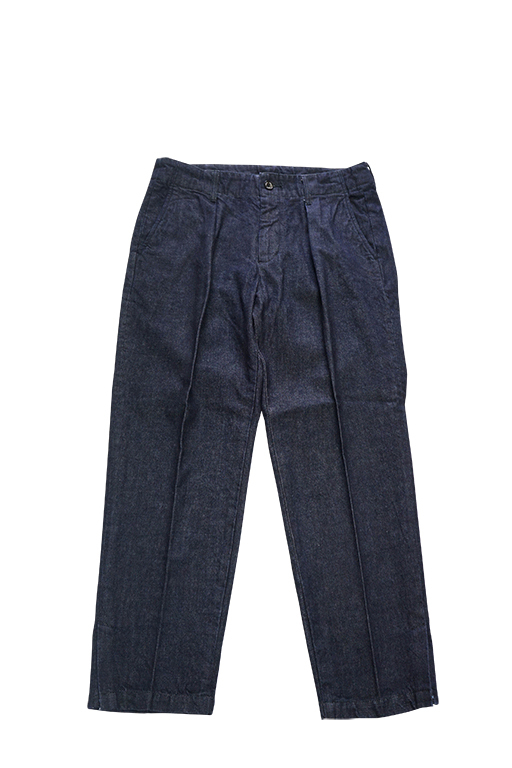DENIM WIDE PANTS (INDIGO / 1WASH)