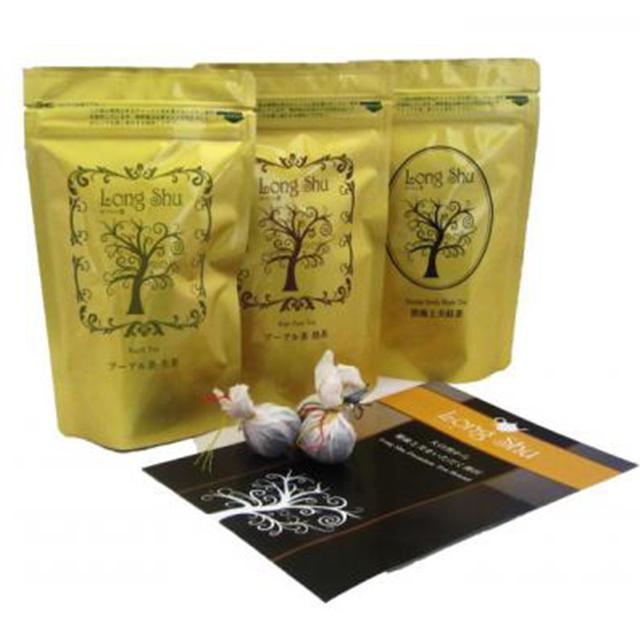 Long Shu Premium Tea Brand ドアンシリーズ プレミアムギフトセット
