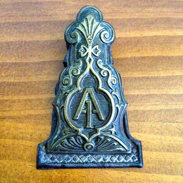 Antique Victorian Paper Clip
