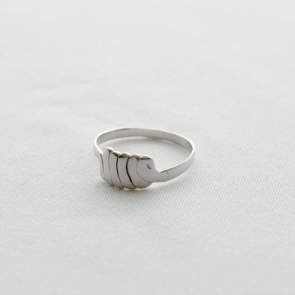 moments / ring - S (silver)
