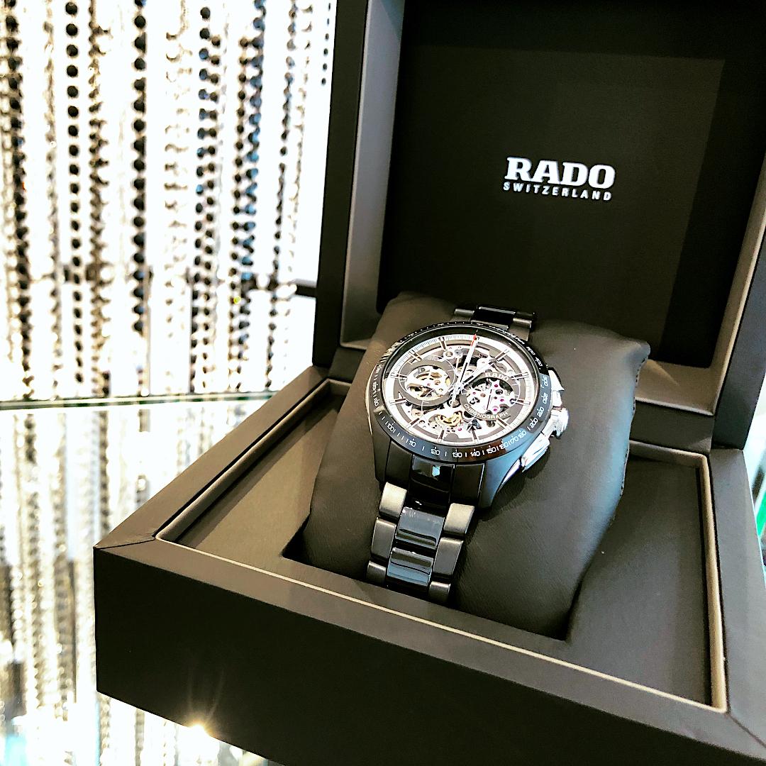 【RADO ラドー】HyperChrome Skeleton Automatic Chronograph Limited Edition ハイパークロームクロノグラフ スケルトン 600本限定/正規輸入品