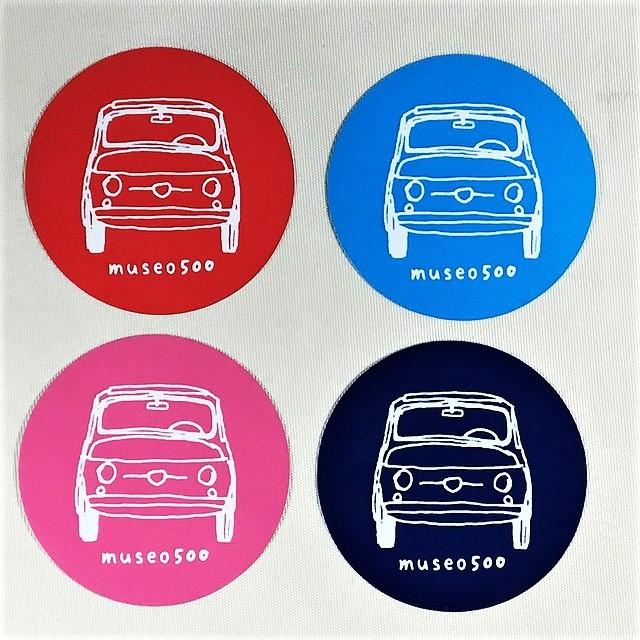 FIAT 500 Affetto Sticker 【1枚/税込価格】