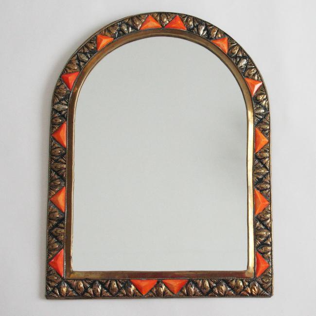 モロッコ装飾ミラー /アーチ/31/ MOROCCO
