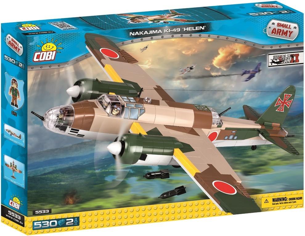 COBI #5533 キ49 一〇〇式重爆撃機 (Helen)