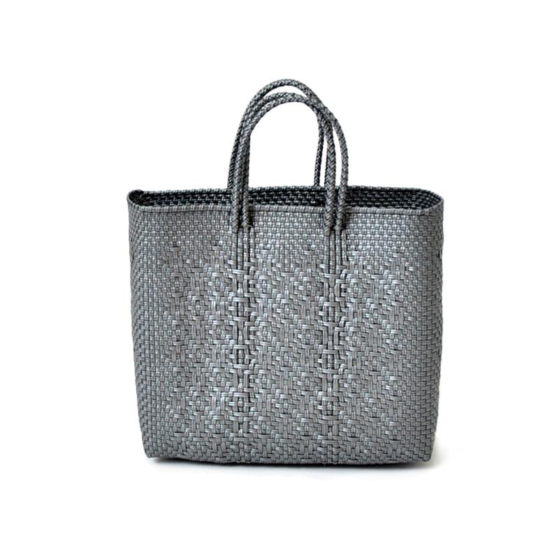 MERCADO BAG ROMBO - Silver(S)