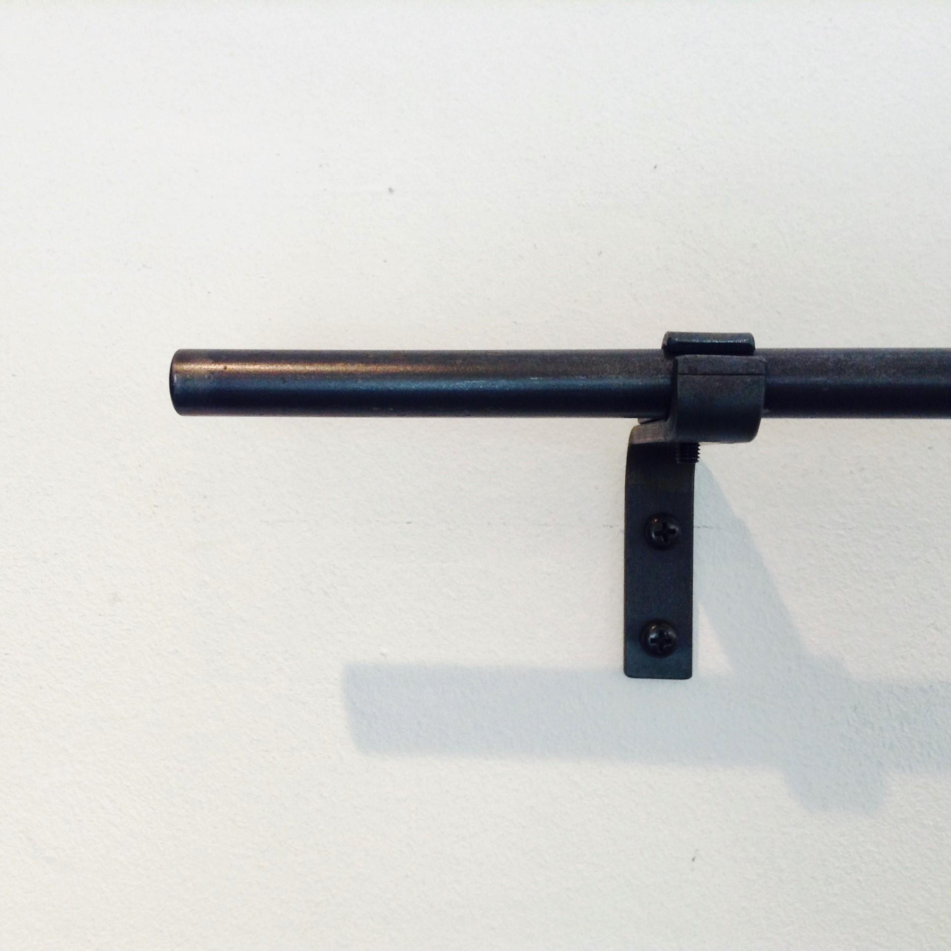 1770mm~3000mm]13mmφ シングルアイアンカーテンレール | 巣まいと