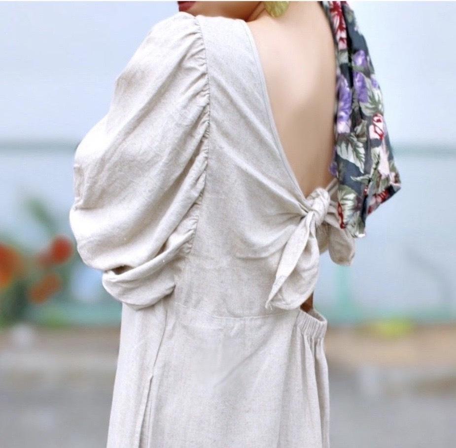 BAD/【 Manic Monday 】Back Knot Dress (0S63005E)