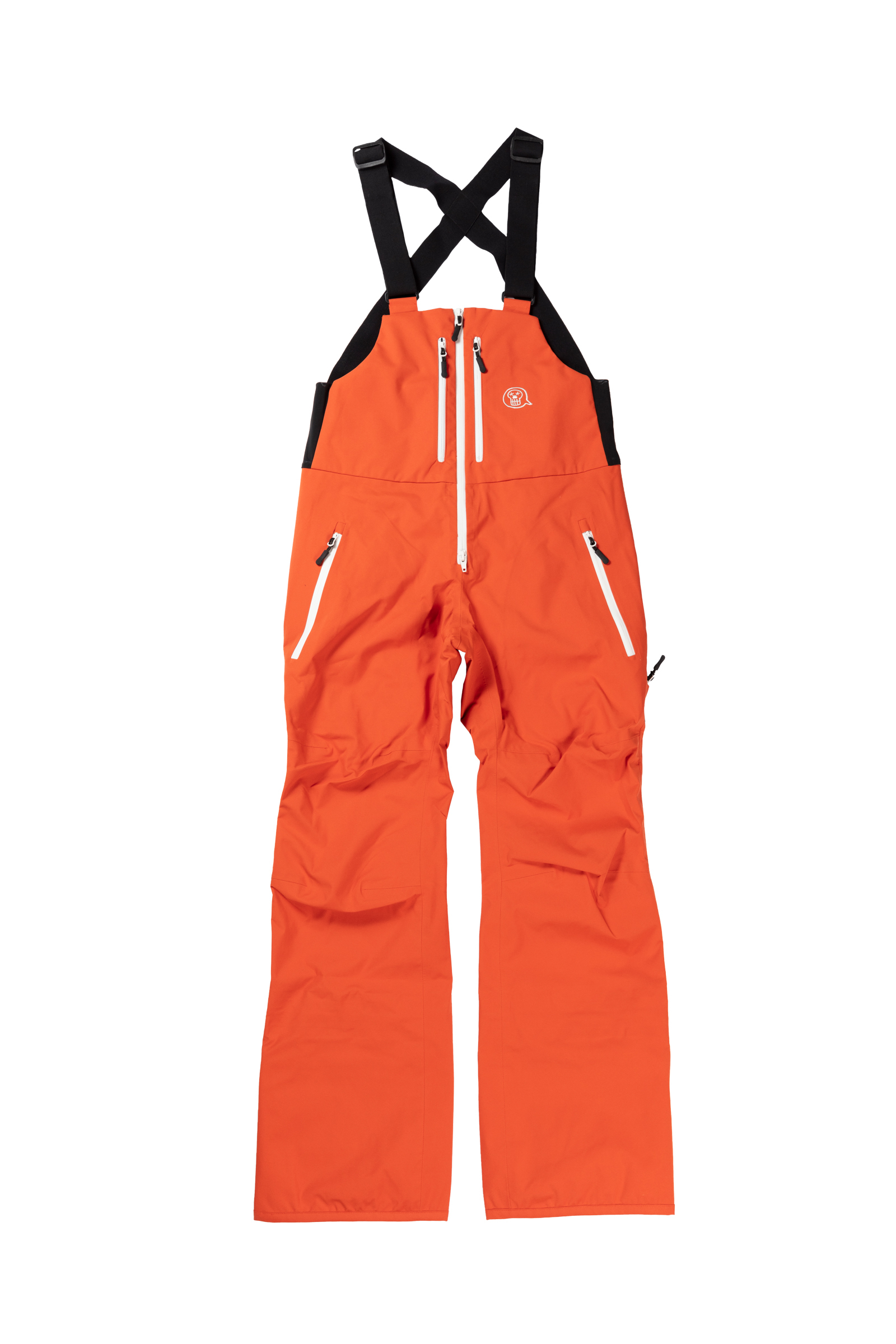 2021unfudge snow wear // SMOKE BIB PANTS // ORANGE / 10月中旬発送