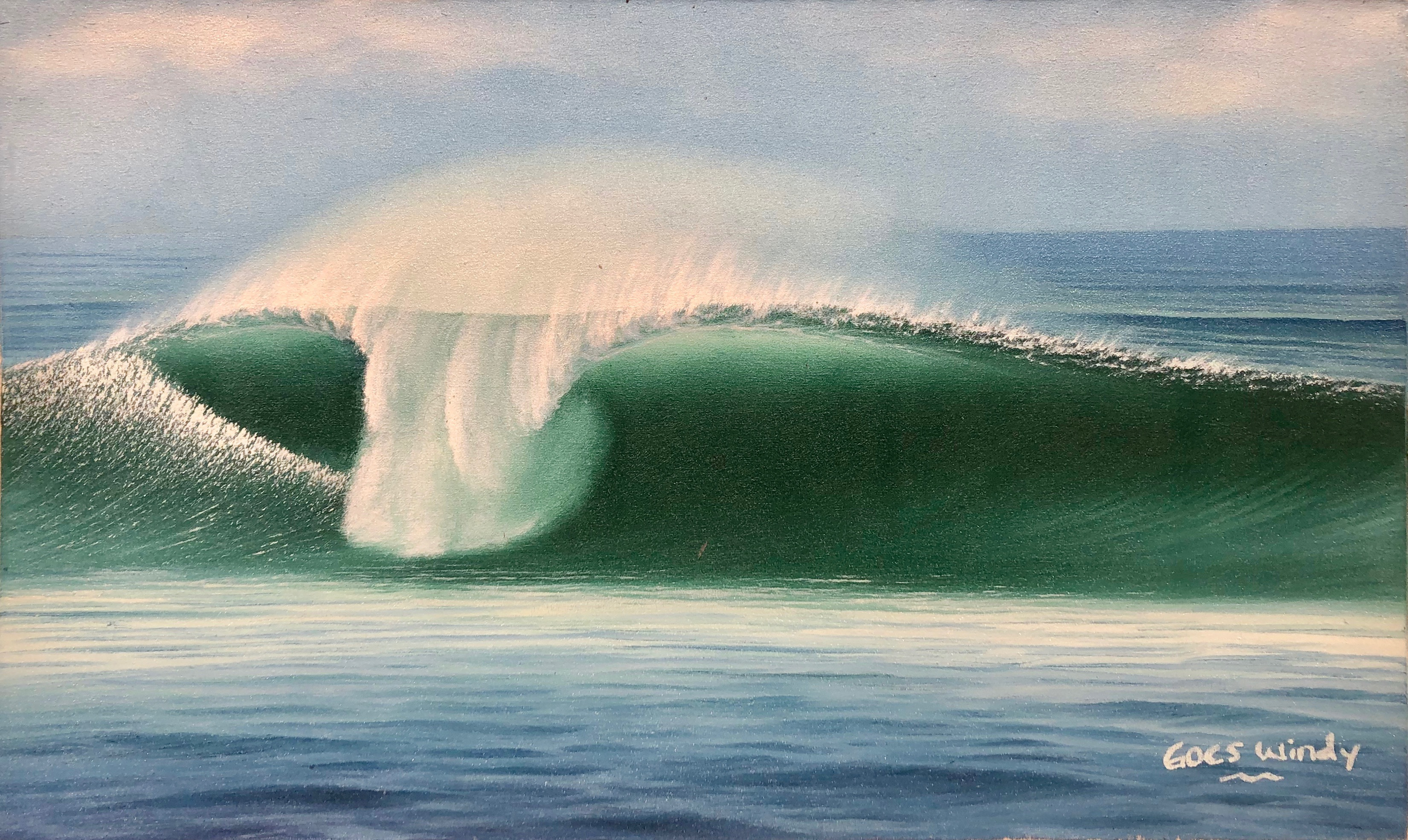 Dreamland Wave Art M8
