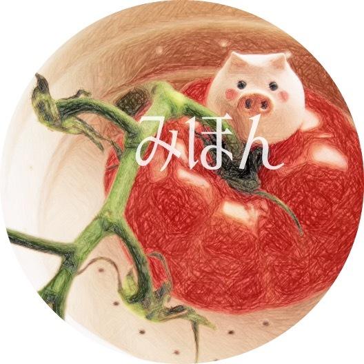 大きめぶたさん缶バッヂ【トマト】
