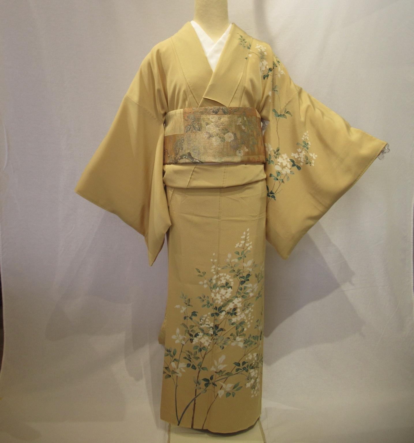 1953加賀友禅訪問着と佐賀錦袋帯セット
