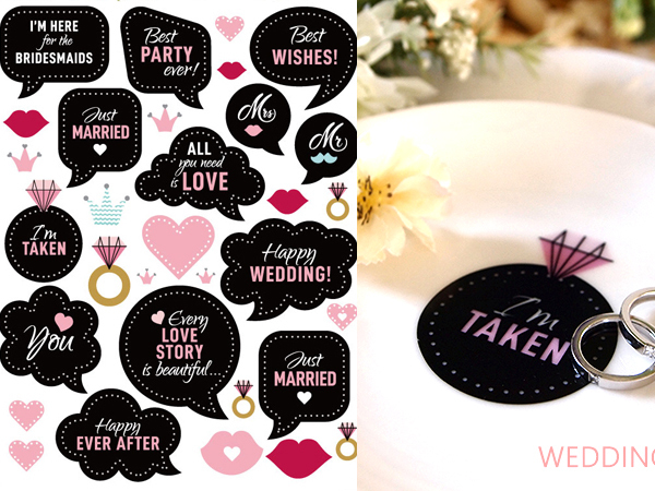 Wedding Message ウエディングメッセージ♪ A4サイズ(ポーセラーツ用転写紙 結婚 贈り物 メッセージ)