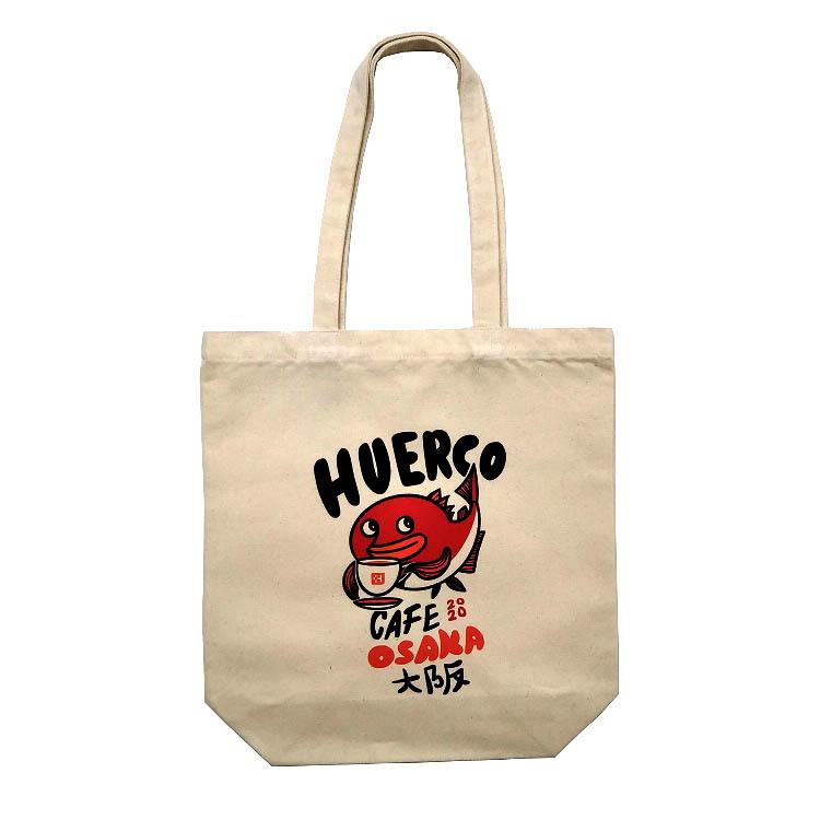 HuercoCafe2020キャンバストートバッグ