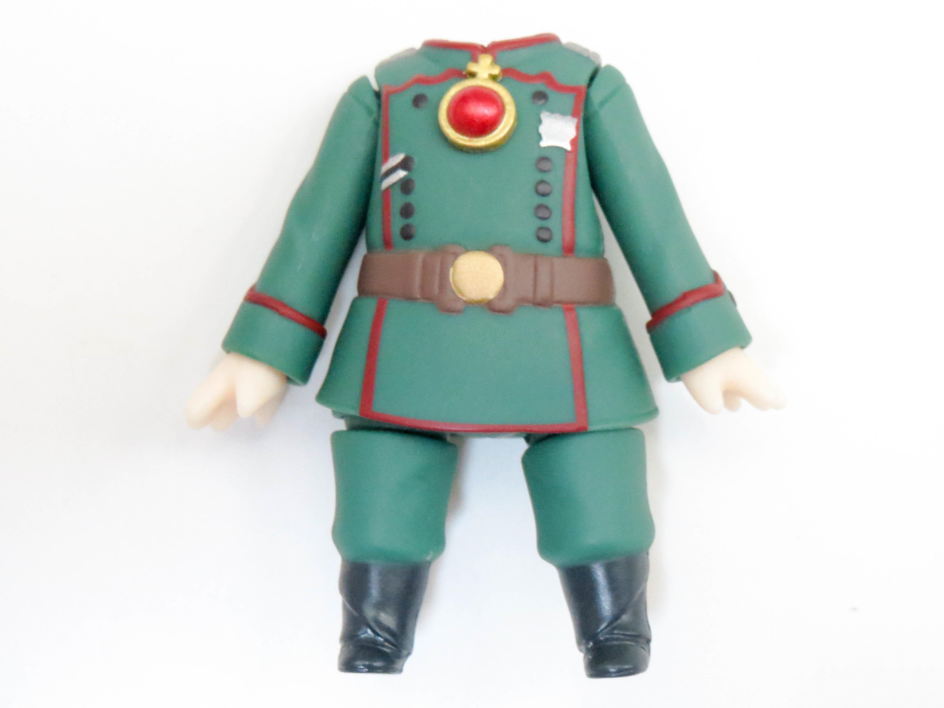 【784】 ターニャ・デグレチャフ 体パーツ 軍服 ねんどろいど