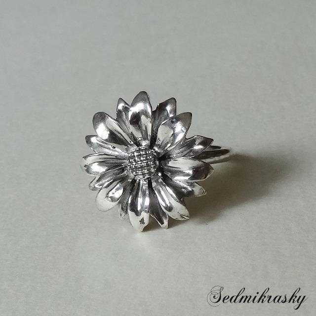 sedm セドム Sedmikrasky Ring / Silver