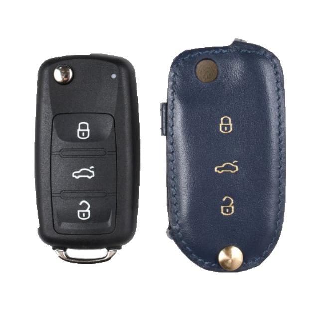 Volkswagen 専用 Type-B Car Key Case Shrink Leather Case