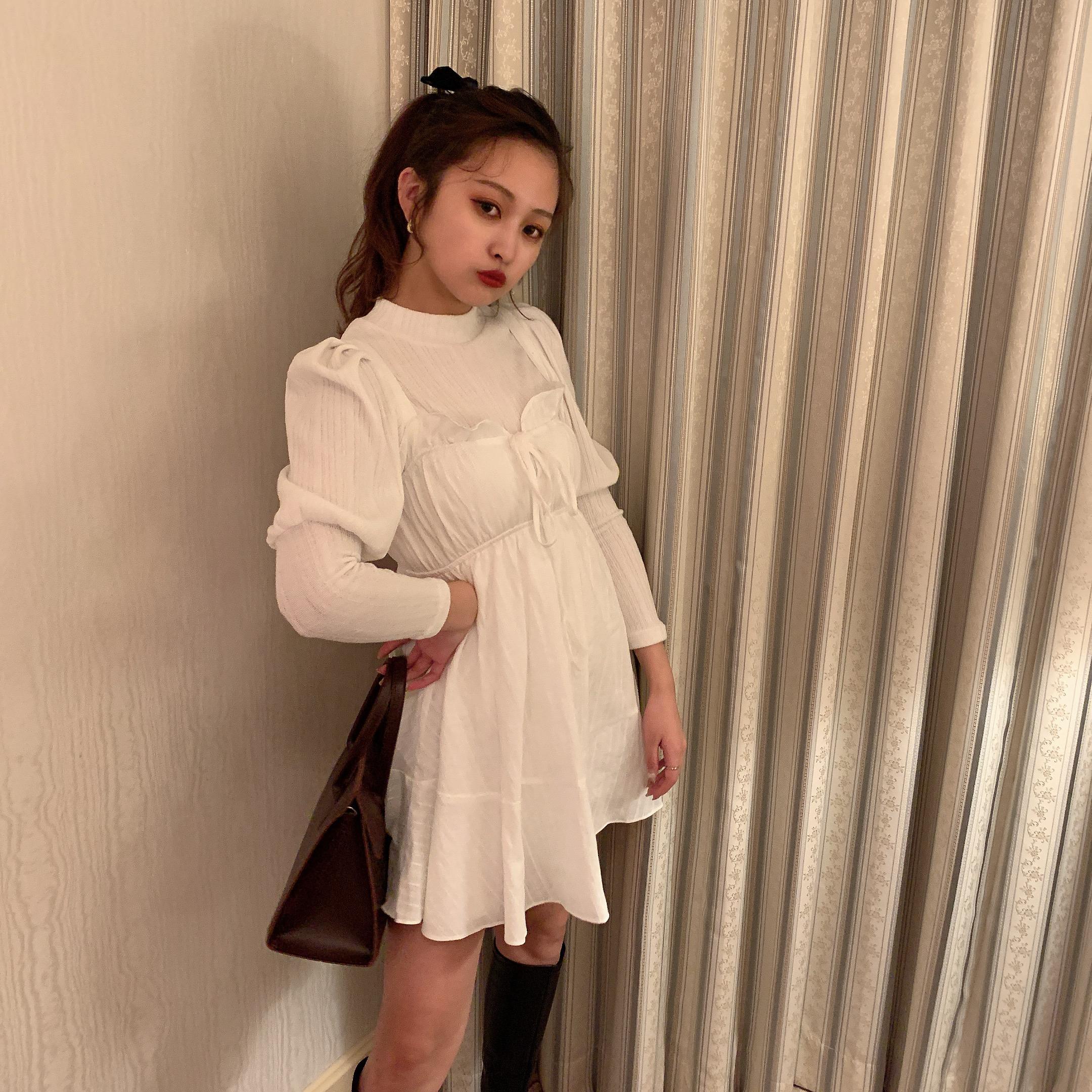 cotton cami one-piece