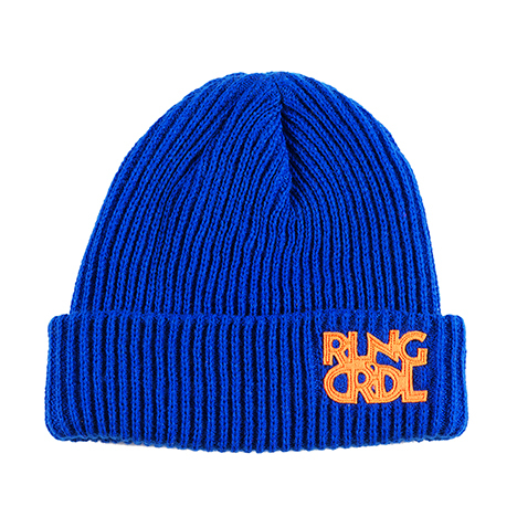 【ROLLING CRADLE | ロリクレ】 RLNGCRDL KNIT CAP / Blue