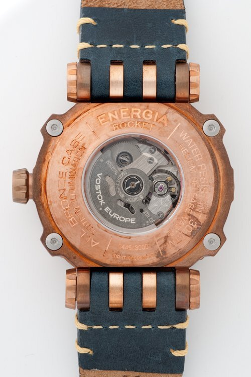 【VOSTOK EUROPE ボストークヨーロッパ】ENERGIA Bronze/エネルギア ブロンズ(ブルー)/正規輸入品