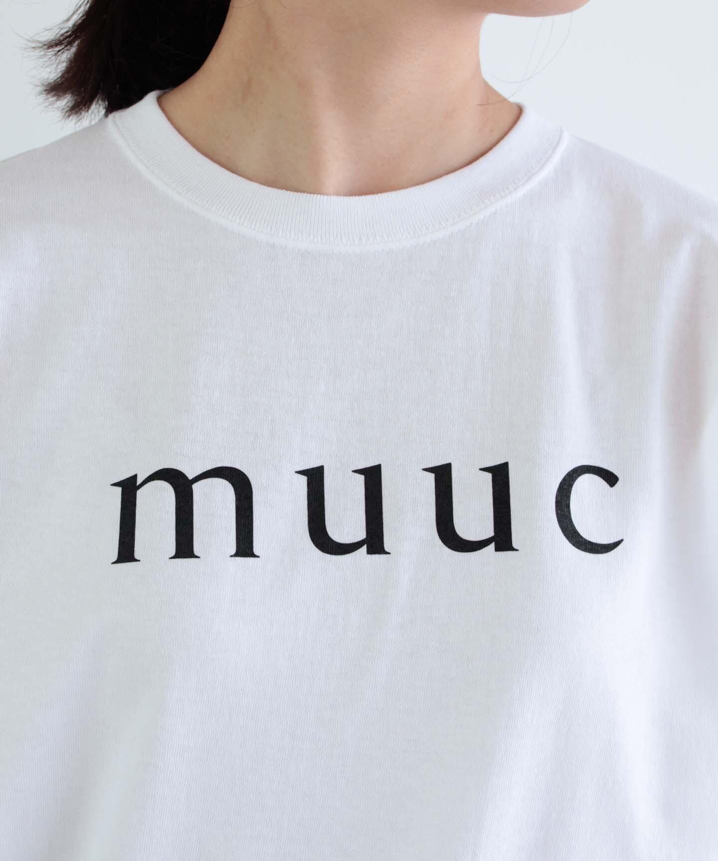 【予約】muuc ロゴ Tシャツ (mua000)