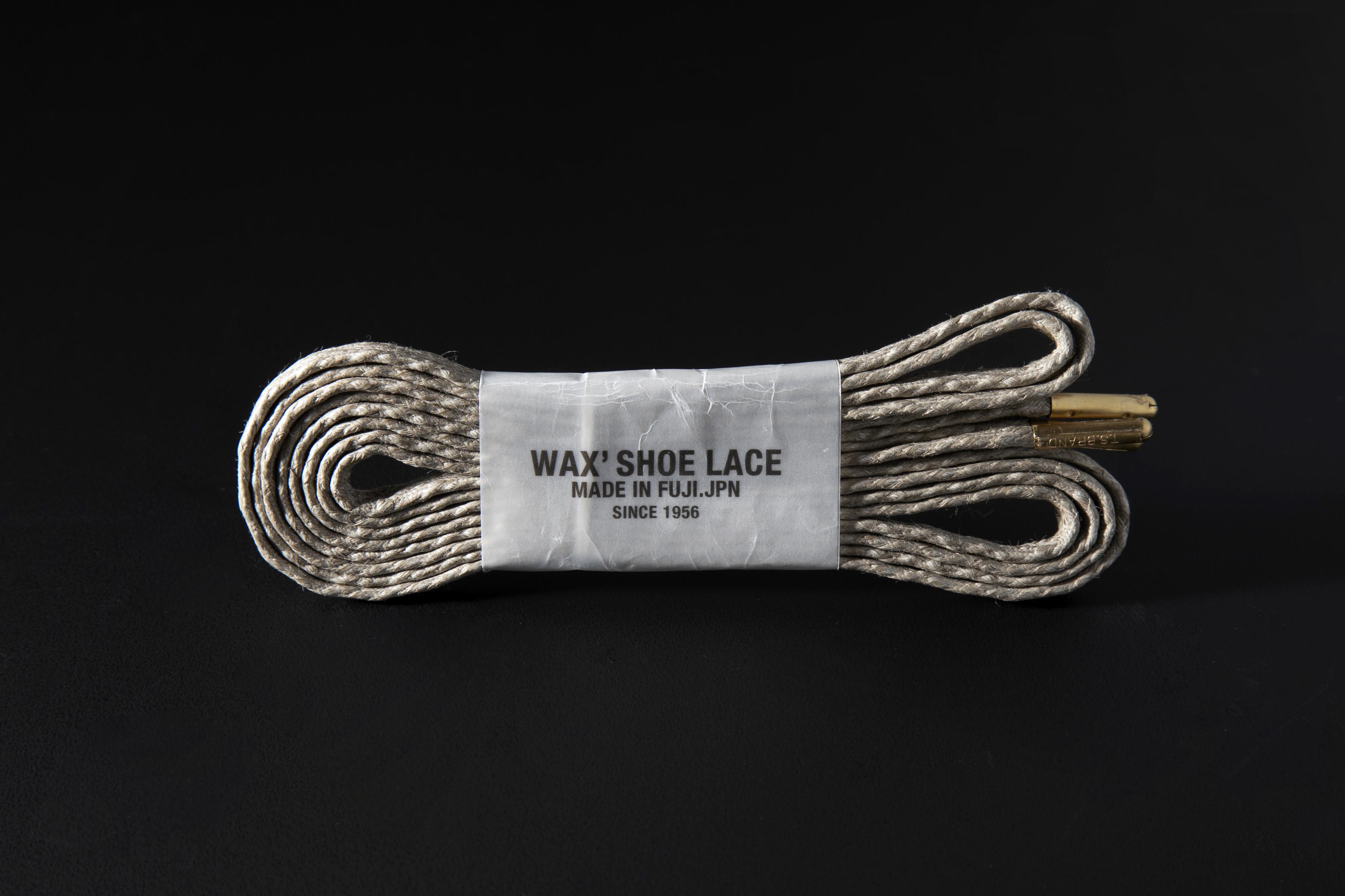 WAFFLE SHOE LACE / GREIGE