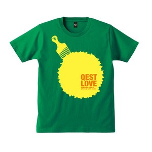 Qest Love T-shirt / Green - 画像1