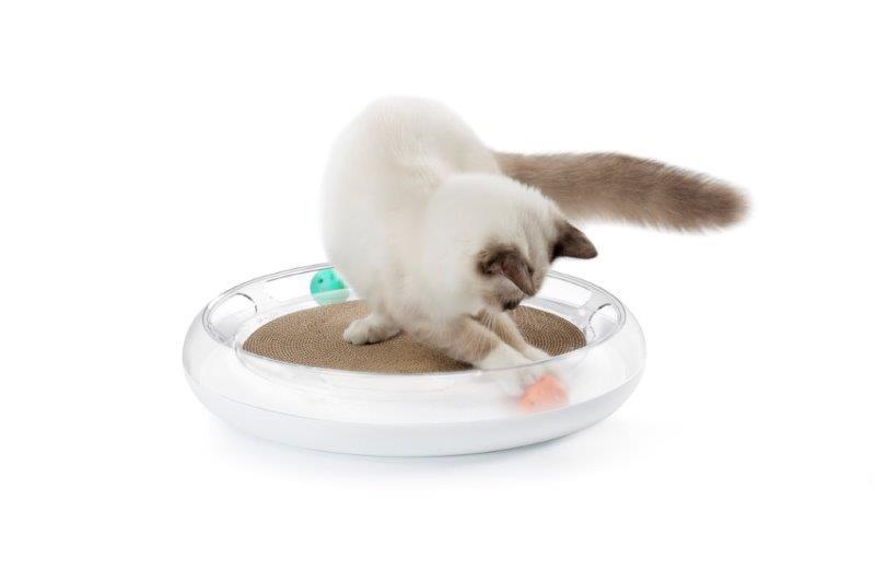 4 in 1「キャットスクラッチャー」Cat Scratcher ~ 魅惑のネコ用トイ ~ TV「ズームインサタデー」で紹介!! (PETKIT)
