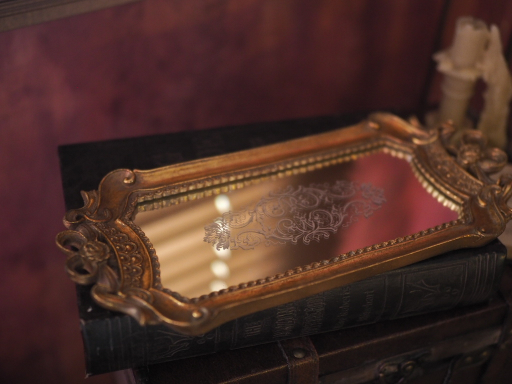 classic mirror tray