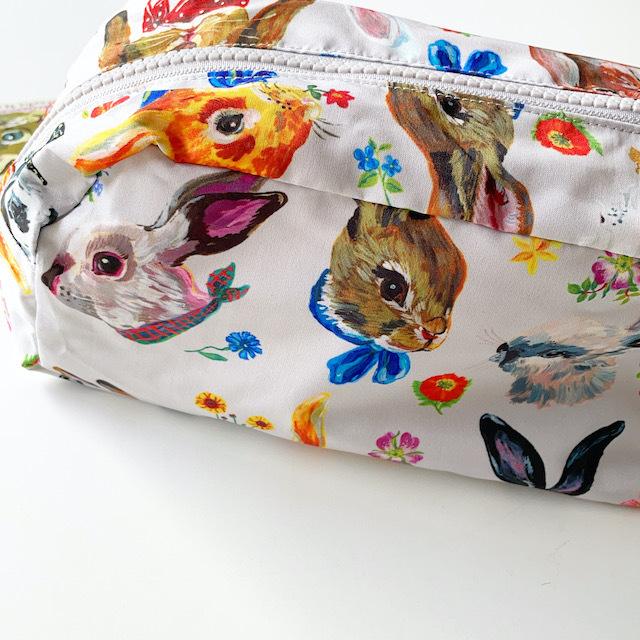 Nathalie Lete Oblong pouch Rabbit ナタリーレテ ポーチ うさぎ