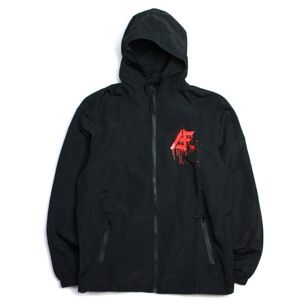 【送料無料】AFFECTER (アフェクター) | AFF TM HOOD JKT  / Black.Red/TOMO