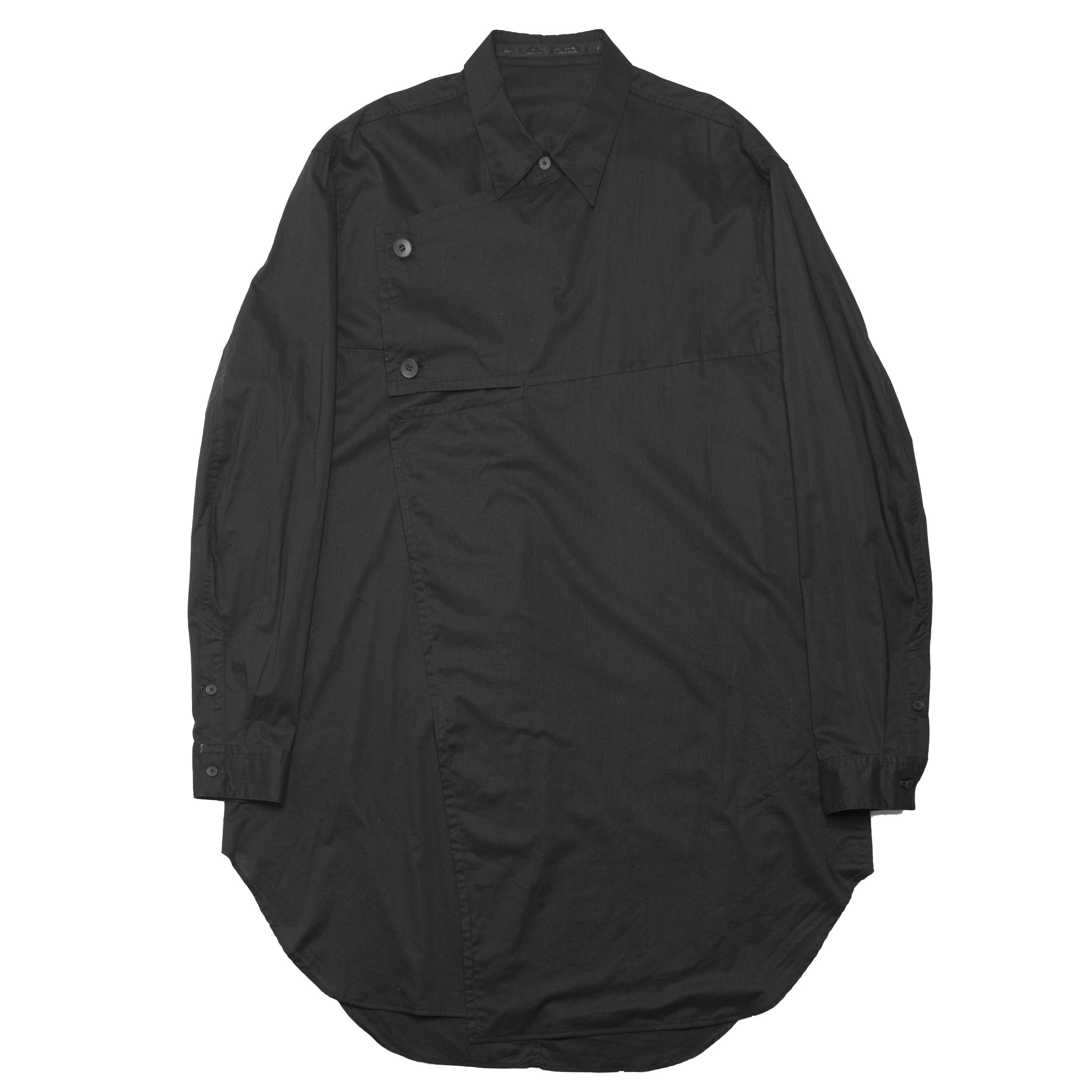 677SHM2-BLACK / DIVIDED シャツ