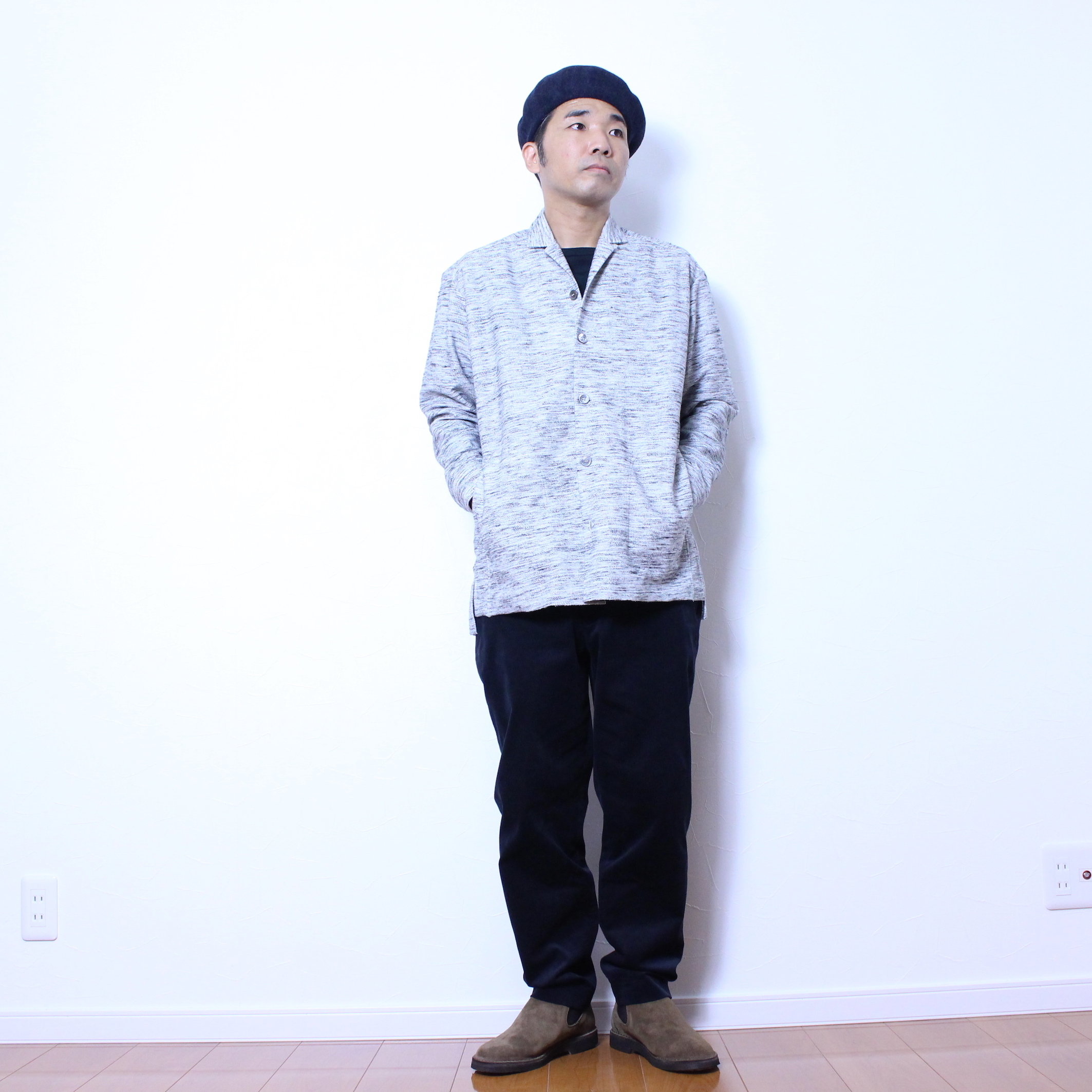 """CURLY(カーリー) """"CLOUDY LS SHIRTS JACKET"""""""
