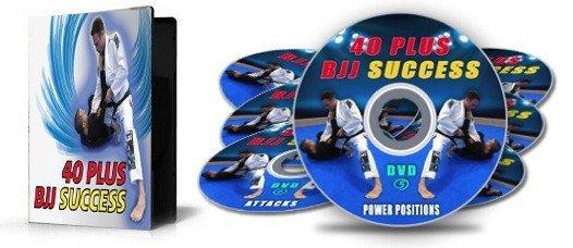 ステフェン・ウィッティアー 40 Plus BJJ Success 7|ブラジリアン柔術教則DVD