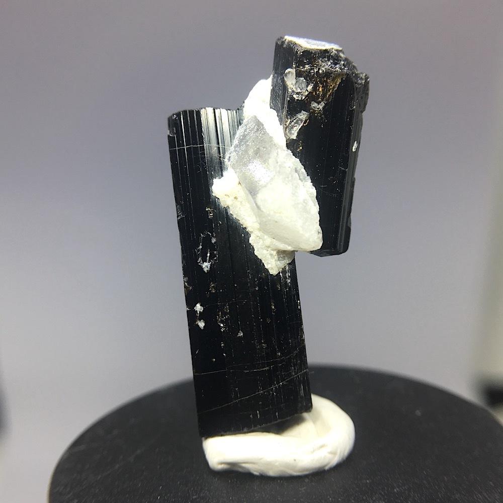 カリフォルニア産!ブラックトルマリン 7.7g 原石 鉱物 標本 T023