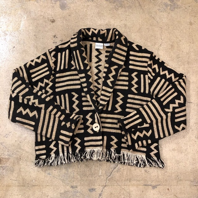 Fringe Cotton Jacket Made in India ¥7,600+tax
