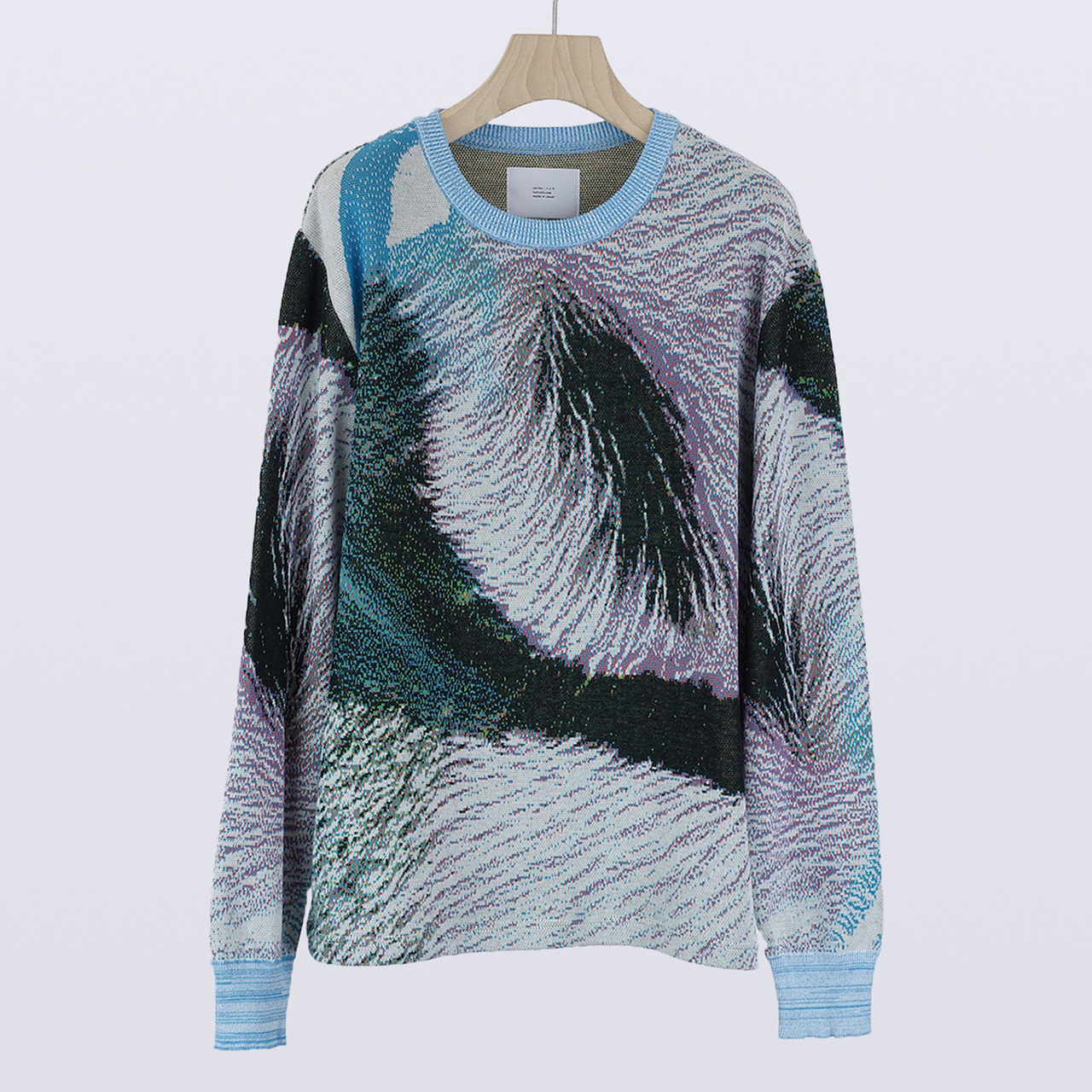 HATRA  Syn Feather Sweater halcyon