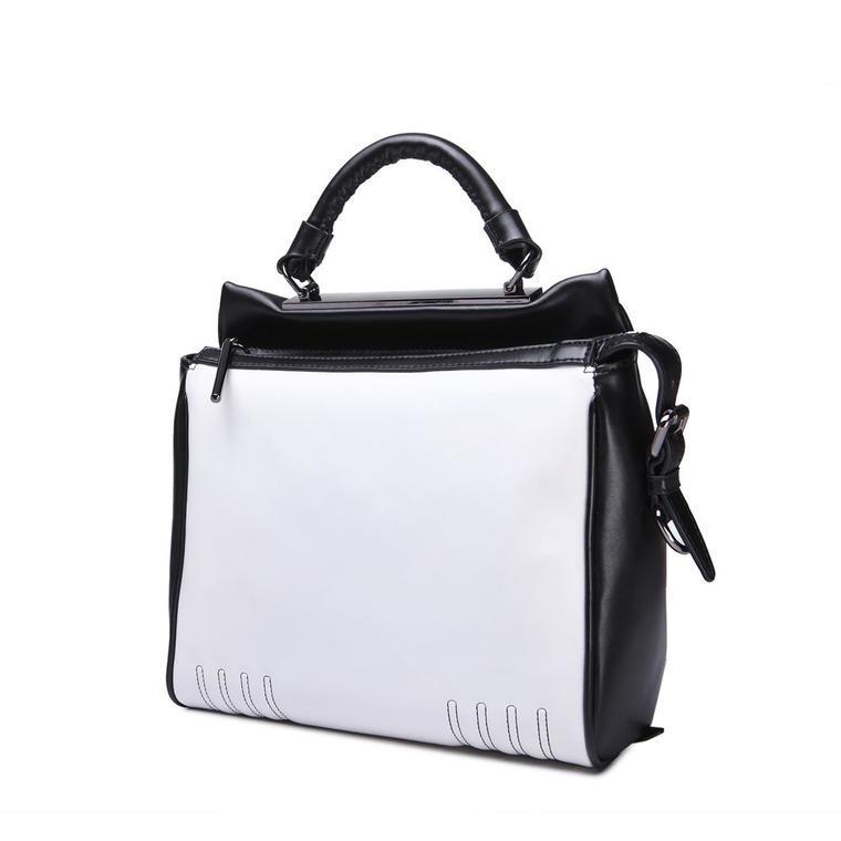 IUHA 大胆なデザイン 牛革 レディース 2way ハンドバッグ 通勤用 レザー 鞄   mb1505014700
