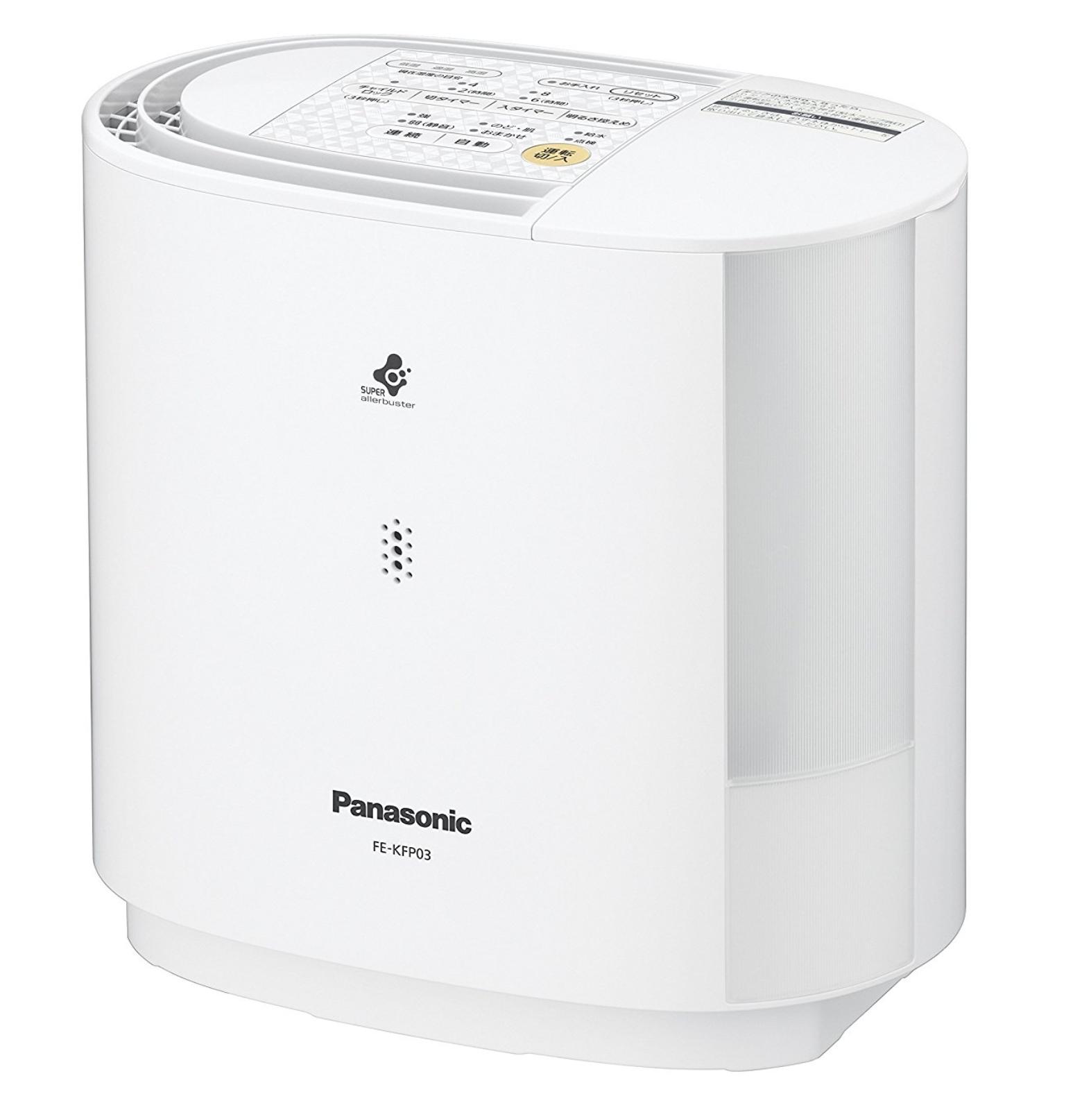 パナソニック 加湿機 気化式 ~8畳 ホワイト FE-KFP03-W