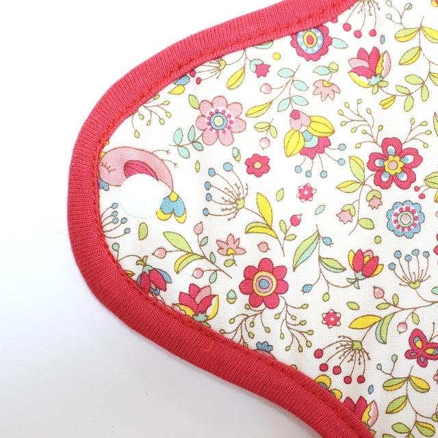 小花*ホルダー型布ナプキン*ロングサイズ