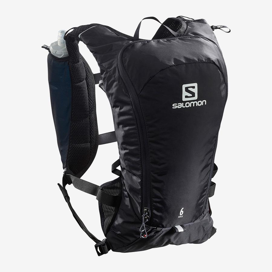 【クリアランス20%オフ】Salomon サロモン  AGILE 6SET Black ハイドレーションバック LC1305500 BLACK アジャイル6セット