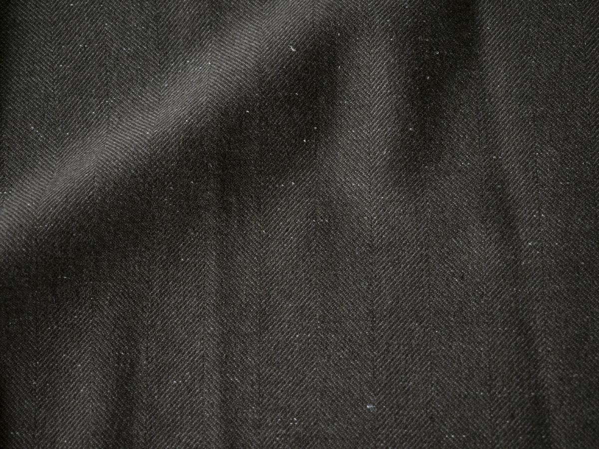 毛七カーキ〔生地〕 c/#1(モスグリーン)