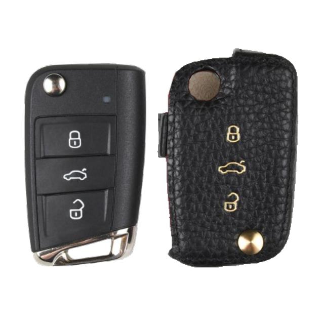 Volkswagen 専用 Type-A Car Key Case Shrink Leather Case