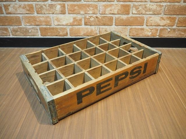 品番0910 ペプシ 黒文字 木箱