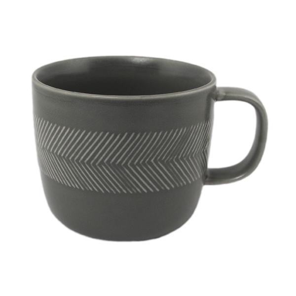 BIRDS' WORDS Tabletop Mug ash gray