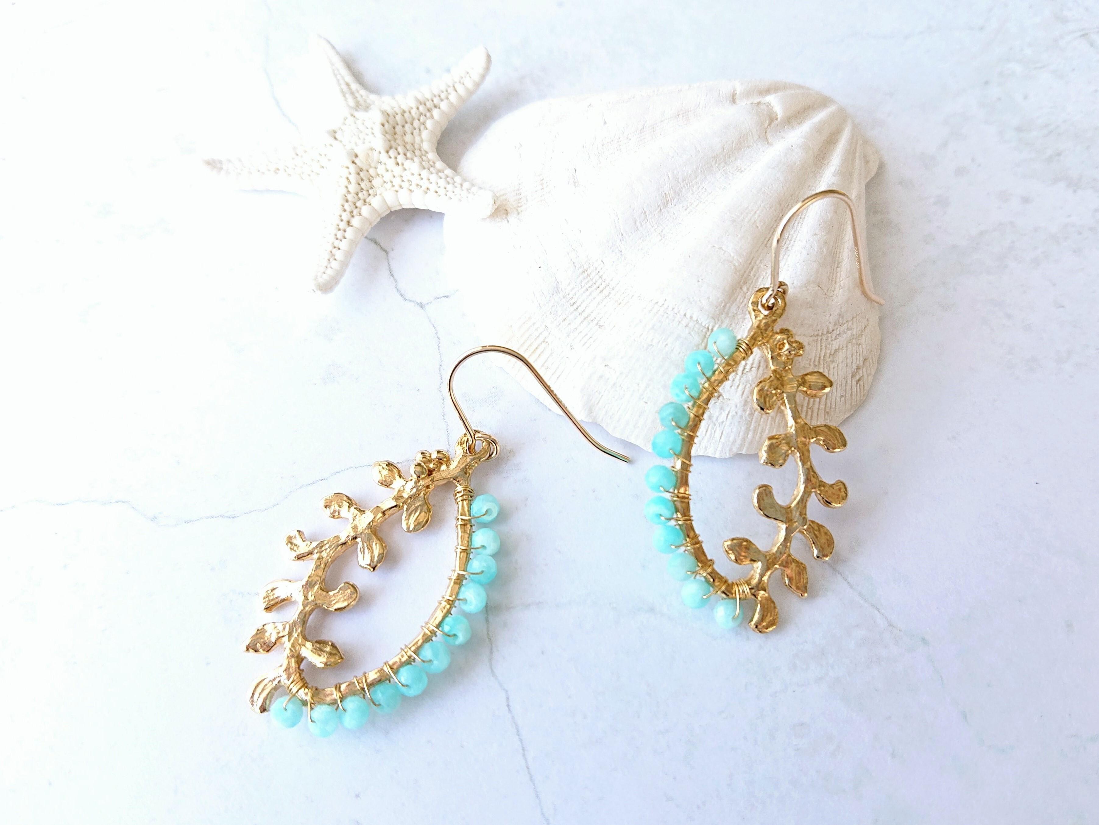 reaf color pierce/earring 031