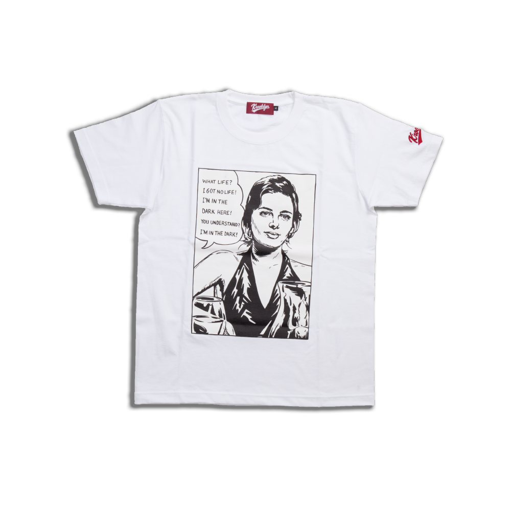 K'rooklyn  T-Shirt White (Scent of a Woman Model)
