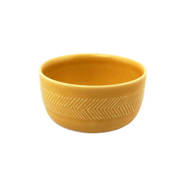 BIRDS' WORDS Tabletop Bowl 8.5cm yellow