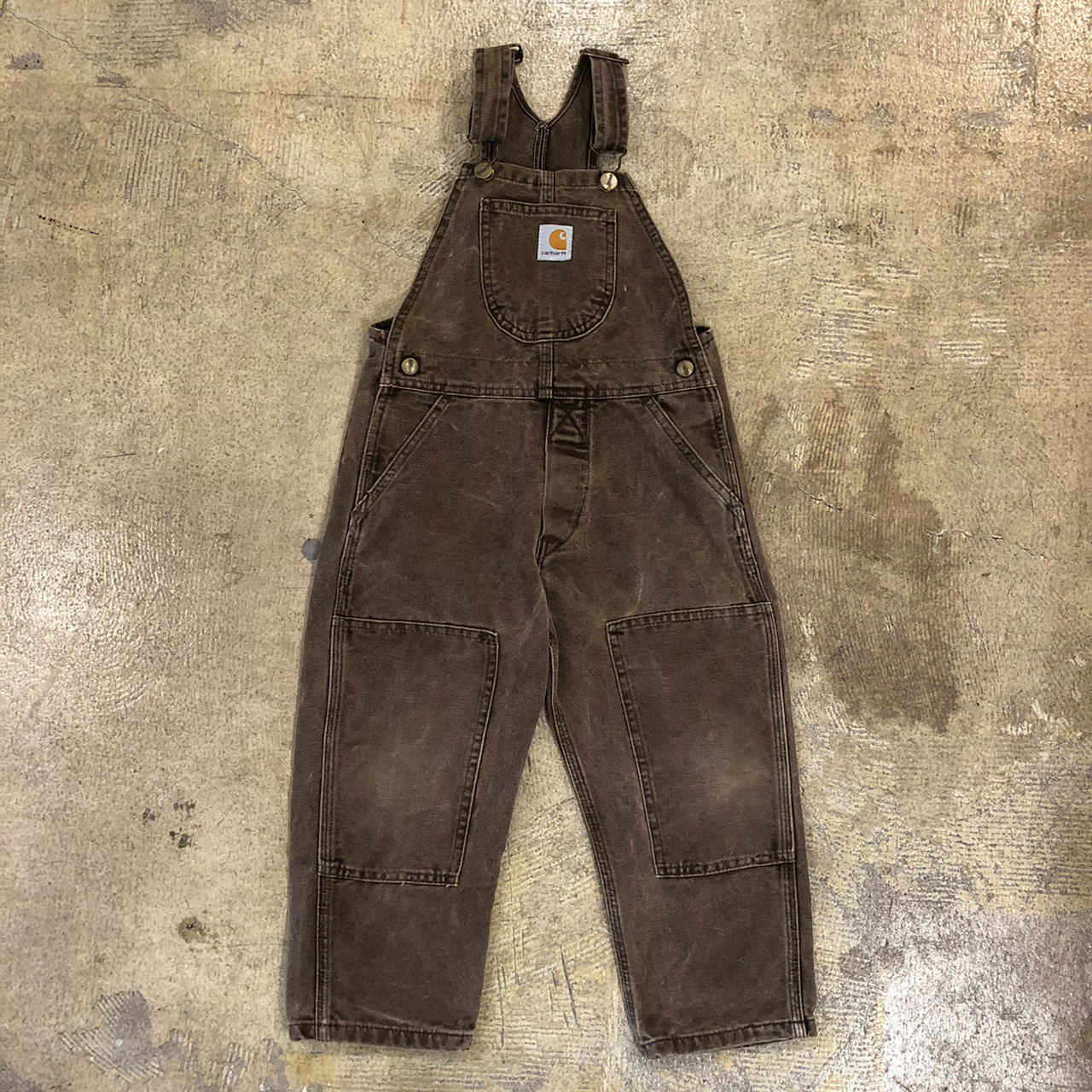 Carhartt Brown Overalls ¥5,400+tax