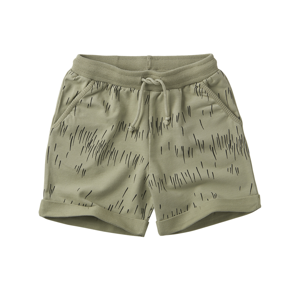 《MINGO. 2020SS》Short / grass print oak